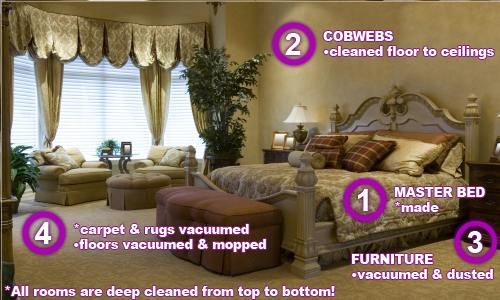 Bedroom Cleaning Sarasota FL | Go HouseMaids