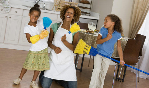 Cleaning The House how to clean your house in 15 minutes a day - housemaids