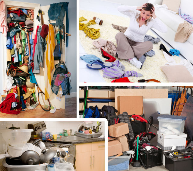 Is your home a cluttered with stuff?