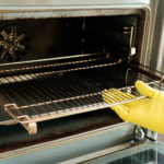 How to Keep Your Oven & Cabinet Gap Clean